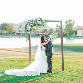 Mccormick Ranch Is The Premier Golf Course Wedding And Banquet Destination In Scottsdale Arizona 3 18 Kissing At Altar Jpg